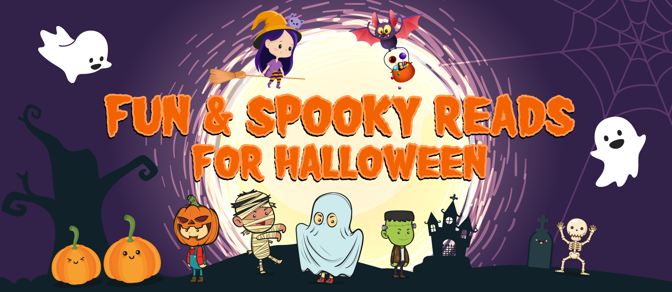 Scholastic spooky reads
