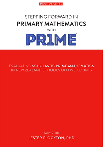 Stepping Forward in Primary Mathematics with PR1ME
