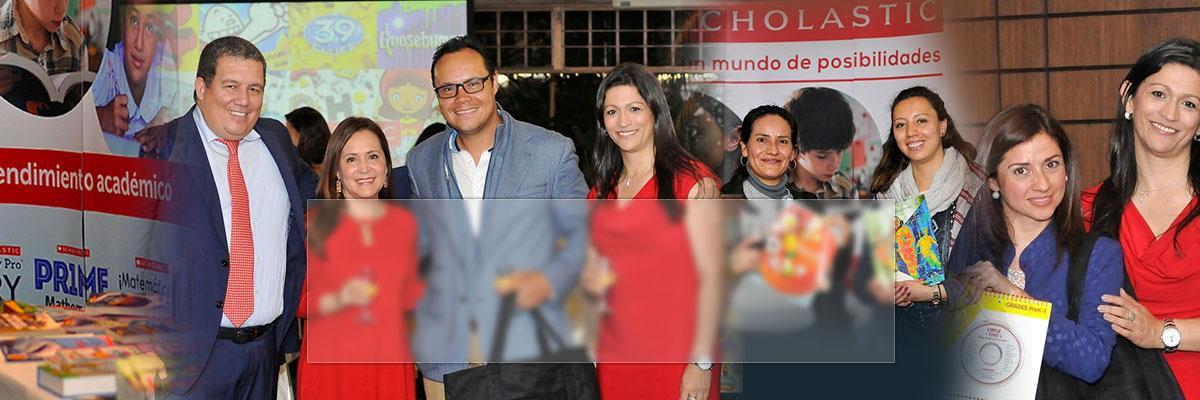 Bogotá, Colombia Scholastic Office Launch Celebration