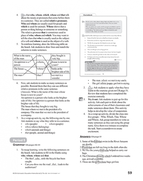 Teacher's Manual 4