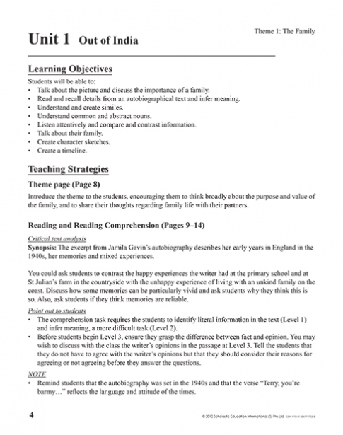 Teacher's Manual 6