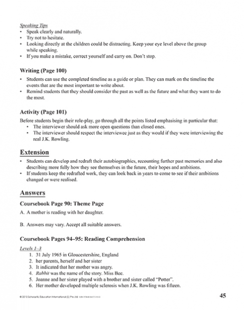 Teacher's Manual 8