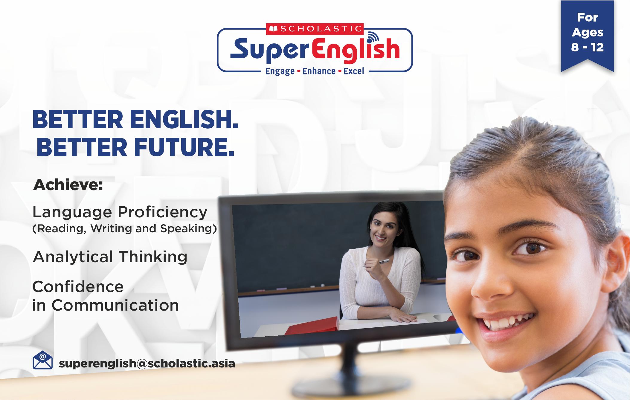 Scholastic Super English