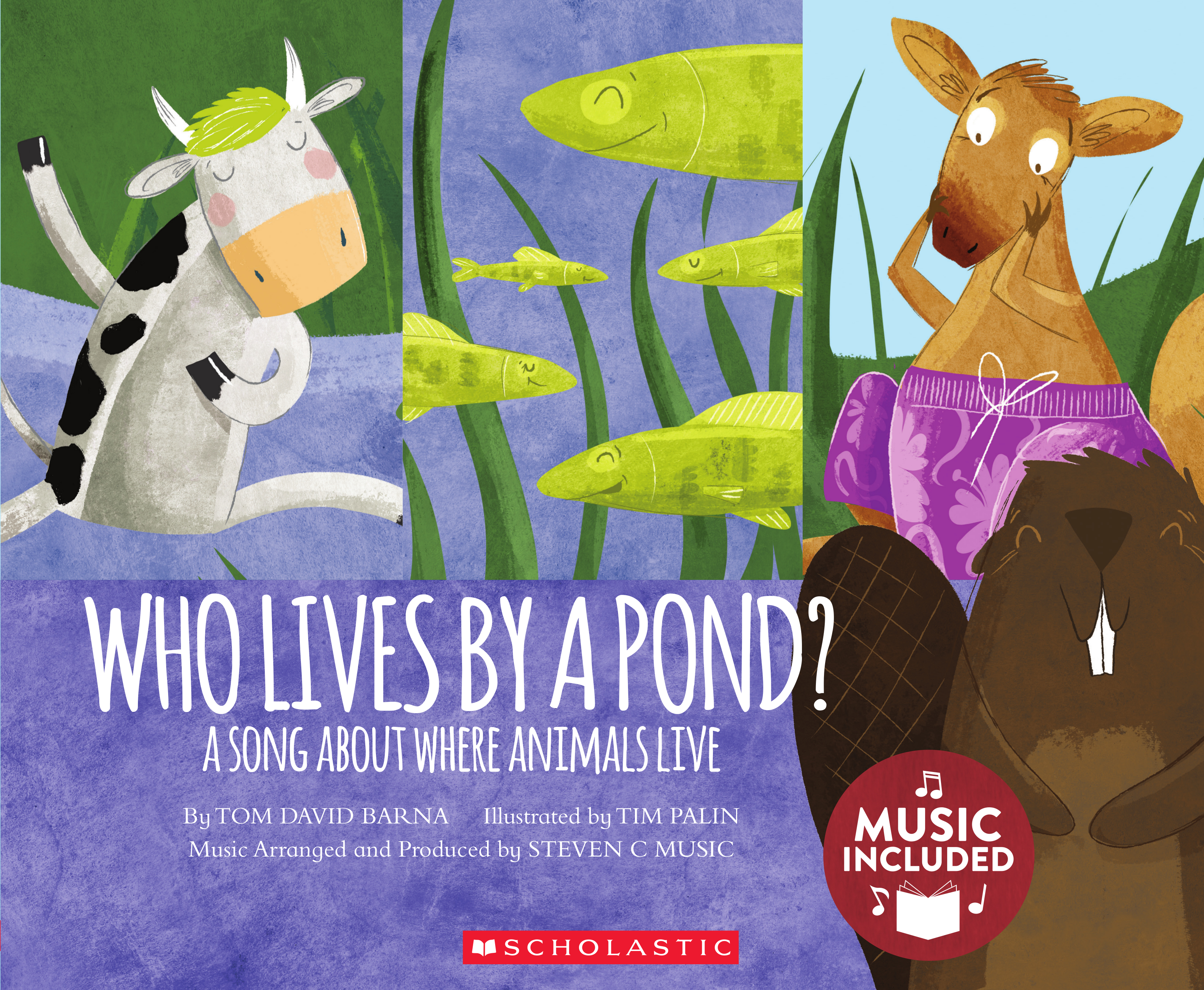 Who Lives By A Pond A Song About Where Animals Live