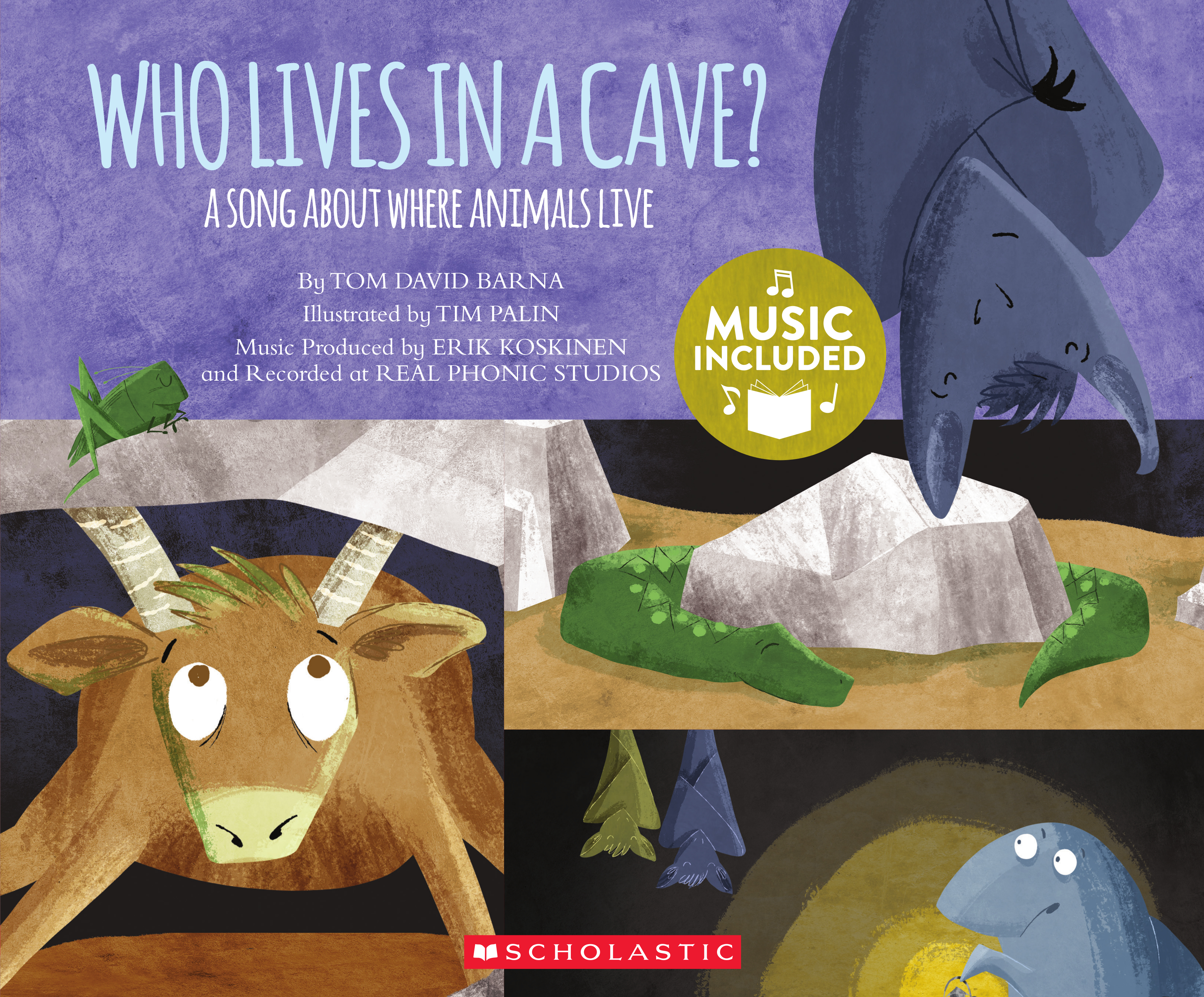 Who Lives In A Cave A Song About Where Animals Live